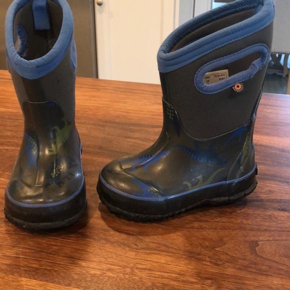 Bogs Kids Slushie Web Geo Insulated Rain Boots /& Umbrella rain boots Bundle